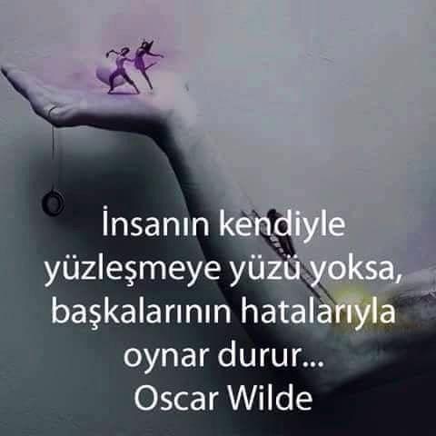 İnsanın Kendi… Oscar Wilde