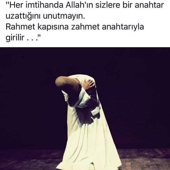 Rahmet Kapısına Zahmet Anahtarıyla Girilir…