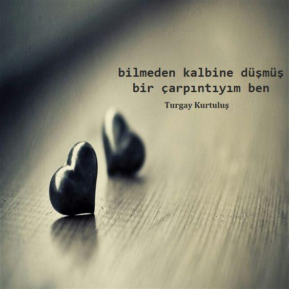 Bilmeden kalbine düşmüş bir…